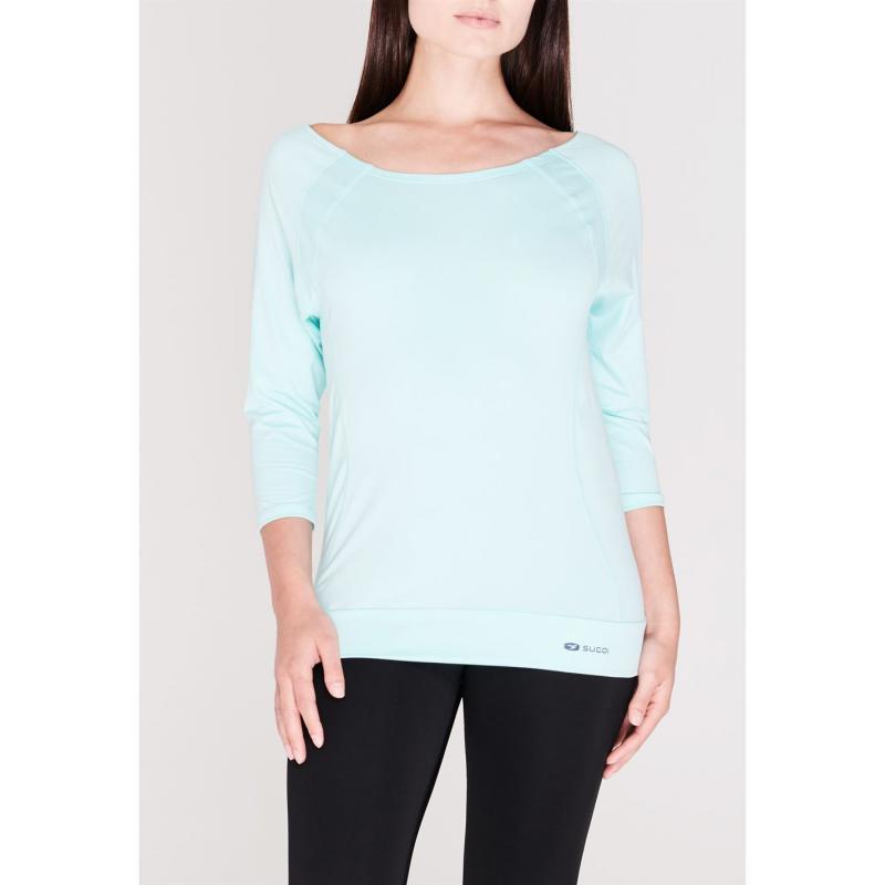 Sugoi Verve Three Quarter T Shirt Ladies Blue
