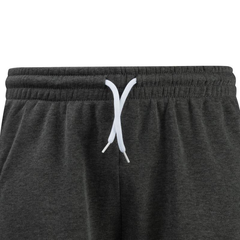 Lee Cooper Fleece Shorts Mens Grey Marl