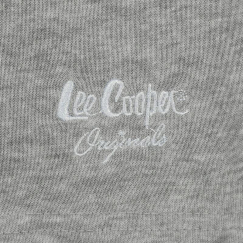 Lee Cooper Fleece Shorts Mens Grey