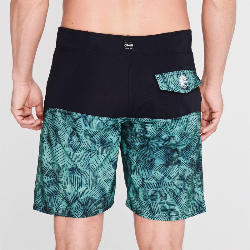 Plavky ONeill Butterfly Board Shorts Mens Blue AOP