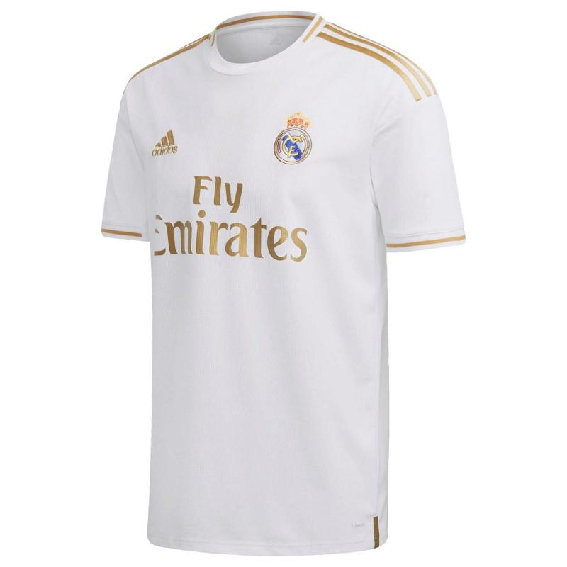 Adidas Real Madrid Home Shirt 2019 2020 White