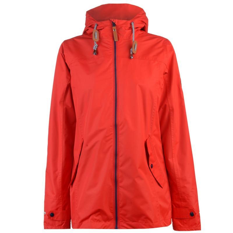 Gelert Coast Waterproof Jacket Ladies Gelert Red 2