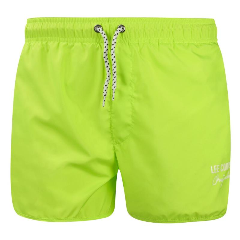 Plavky Lee Cooper Swim Shorts Mens Lime