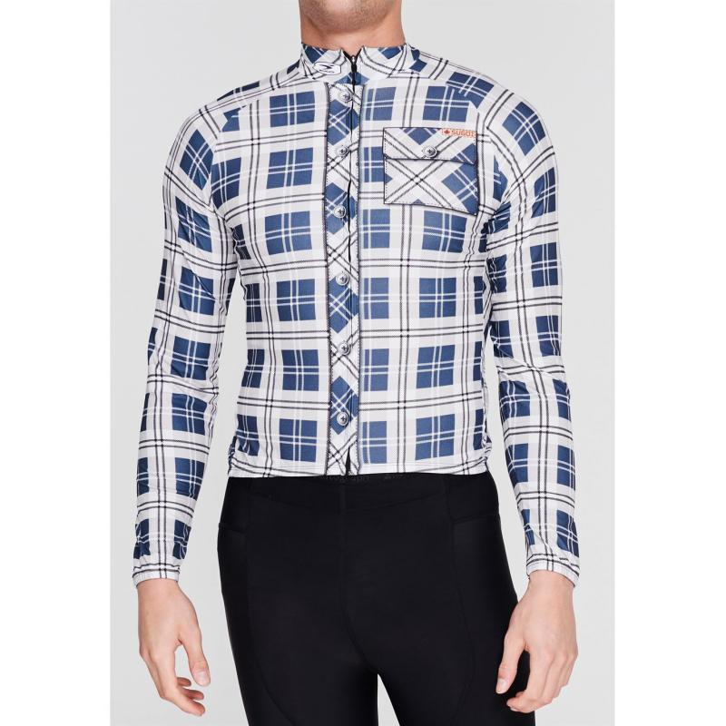 Sugoi Lumberjack Cycling Jersey Mens Grey
