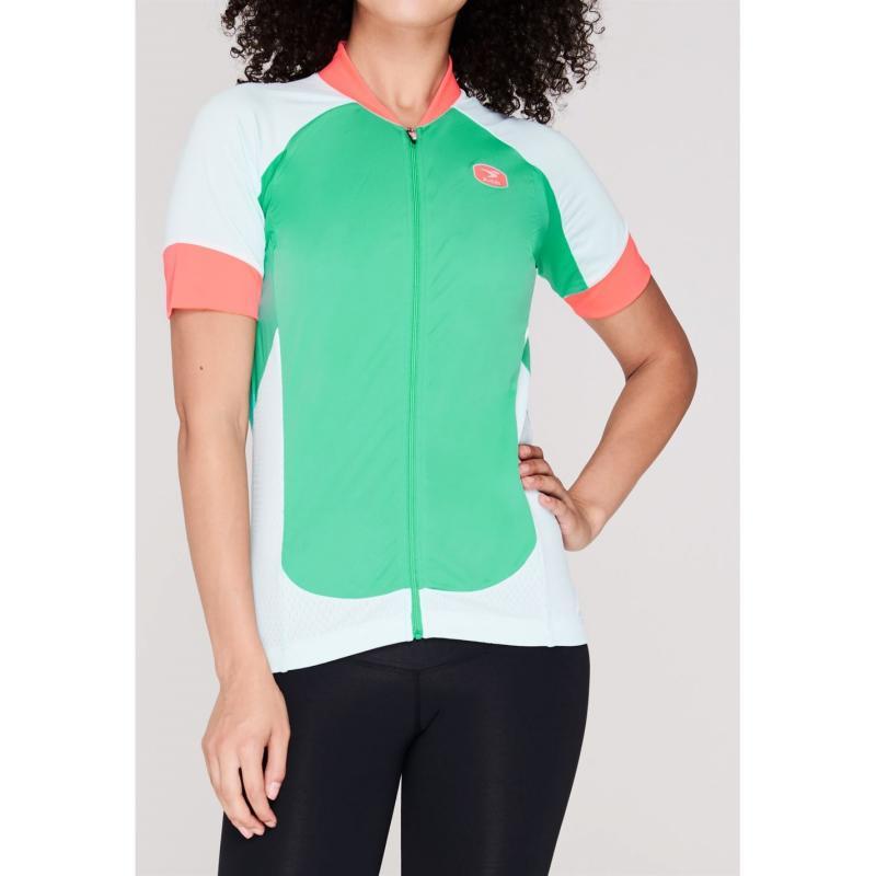 Sugoi Short Sleeve Performance T Shirt Green .