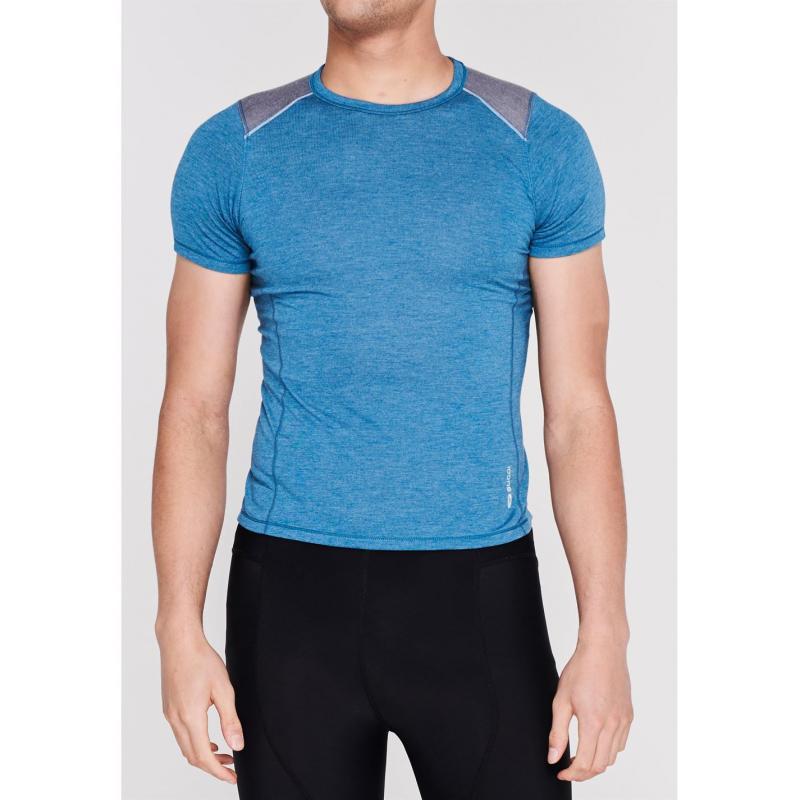 Sugoi Verve Short Sleeve T Shirt Ladies Blue Titanium