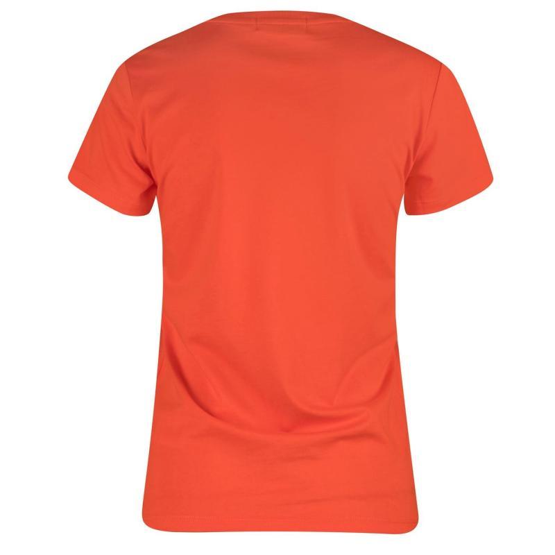 Lee Cooper Brush Cotton T Shirt Ladies Beige