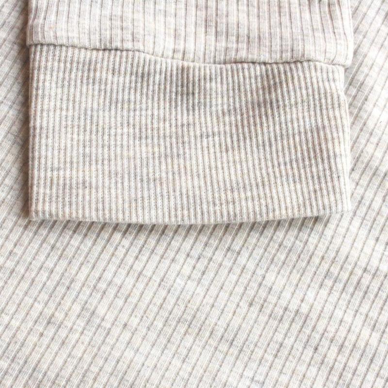 Košile Lee Cooper Quarter Sleeve Blouse Ladies Beige