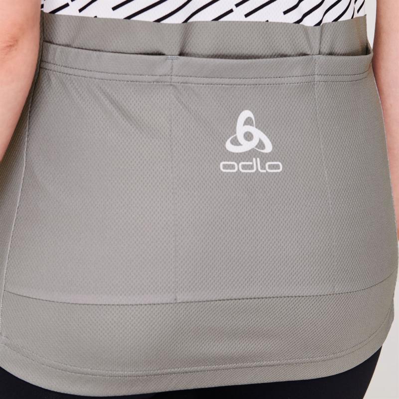 Odlo Womens Active Short Sleeve Jersey Grey/Yellow