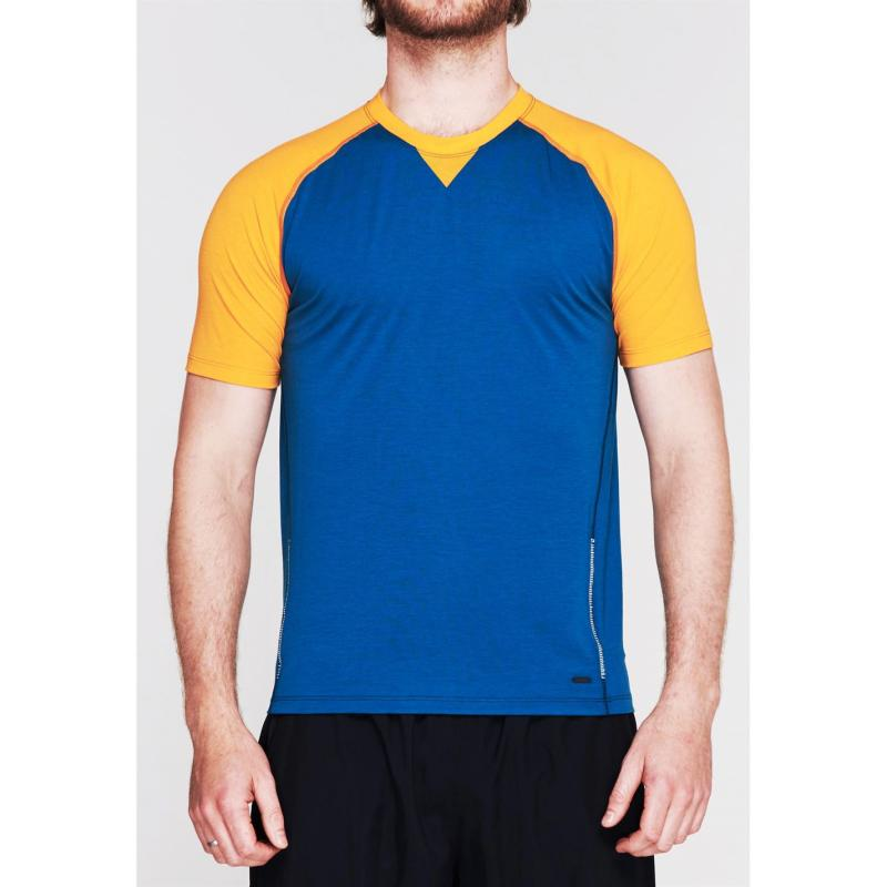 Sugoi Coast Short Sleeve T Shirt Mens Yellow