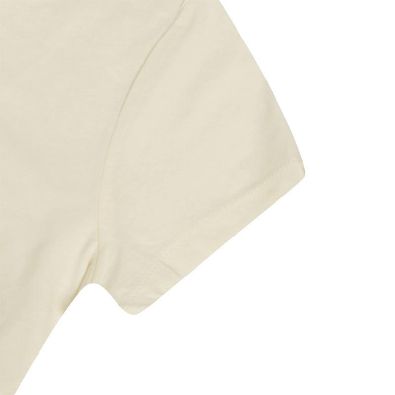 Lee Cooper Comb Cotton T Shirt Ladies Beige
