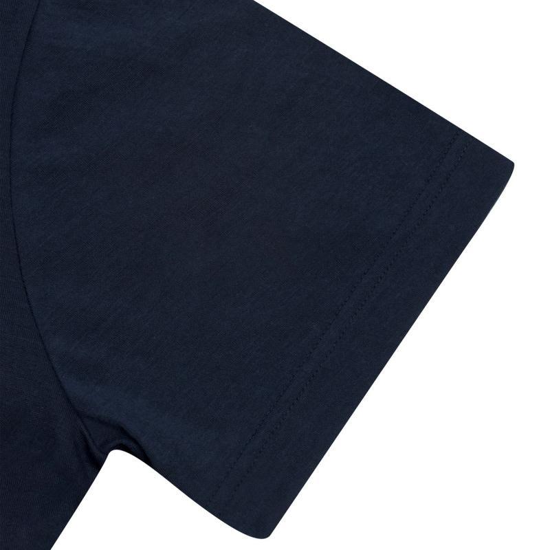 Tričko Lee Cooper V Neck T Shirt Mens Navy