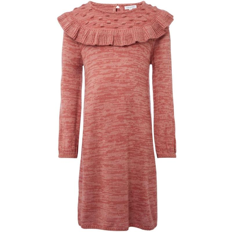 Rose and Wilde Shelly Yolk Panel Knit Dress
