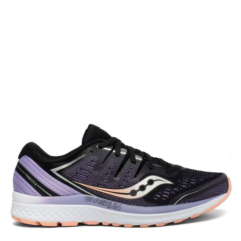Saucony Guide ISO 2 Ladies Running Shoes Black / Purple