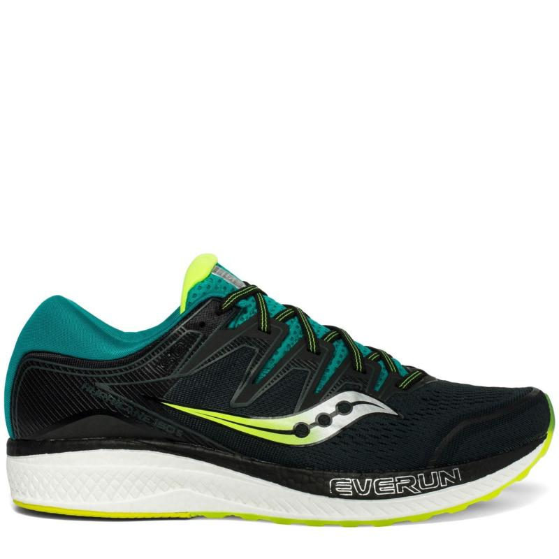 Saucony Hurricane 5 Mens Running Shoes Green / Teal