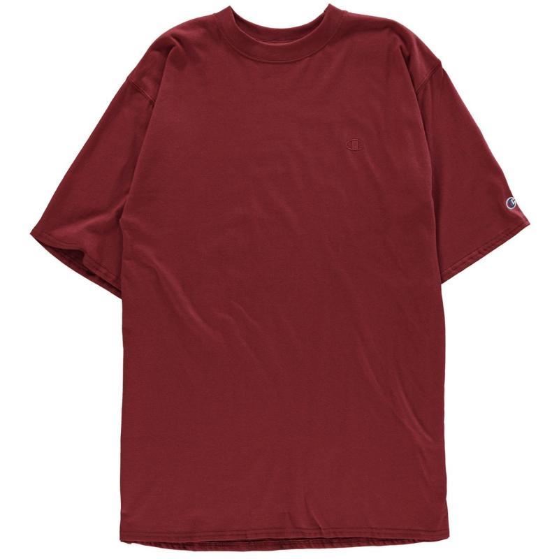 Tílko Champion Jersey Short Sleeve T Shirt Maroon