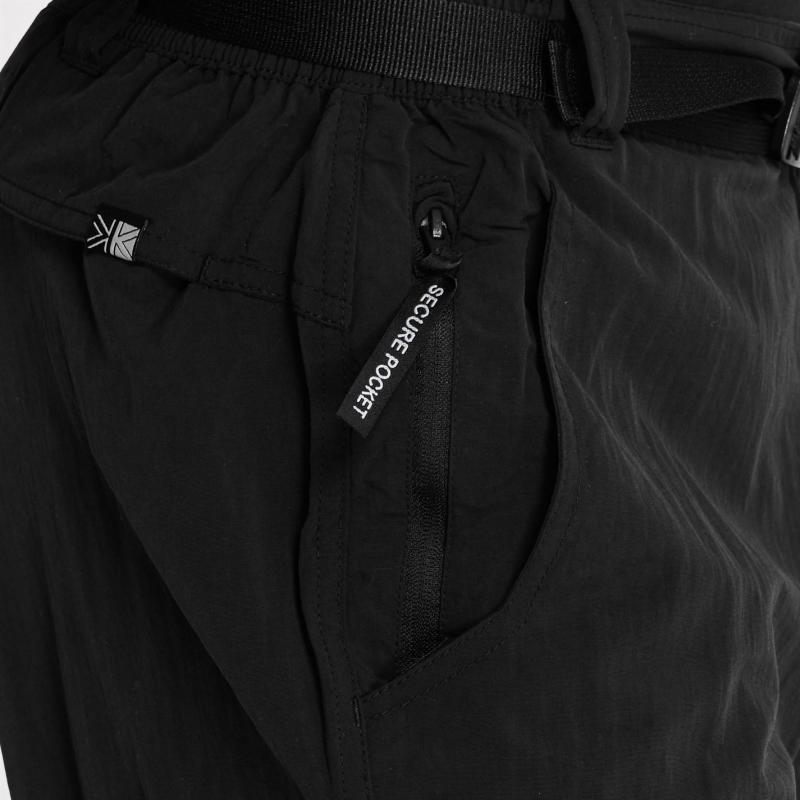 Karrimor Aspen Zip Off Trousers Mens Black