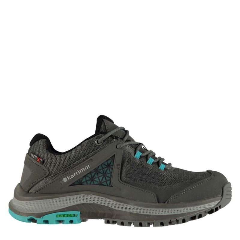 Boty Karrimor Stanedge Trainers Ladies Charcoal/Teal