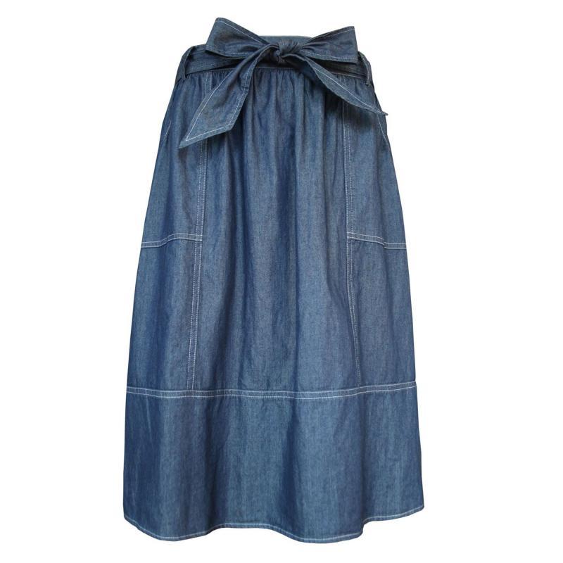 Sukně Lee Cooper Denim Skirt Ladies Navy
