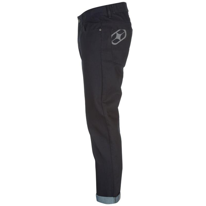 No Fear Coated Jeans Mens Dark