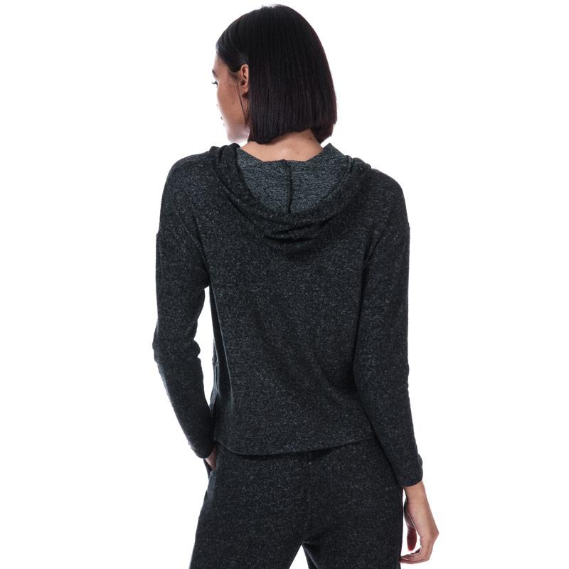 Mikina s kapucí Brave Soul Womens Brushed Lounge Hoody Charcoal