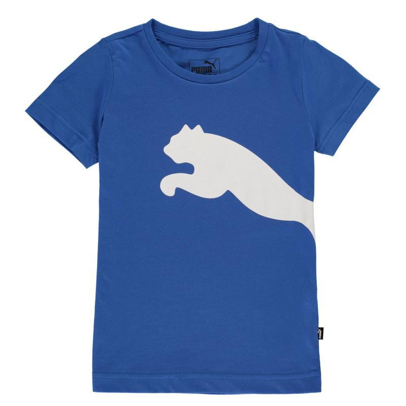 Tričko Puma Cat T Shirt Royal