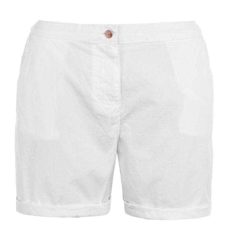 Rock and Rags Poplin Shorts Ladies White