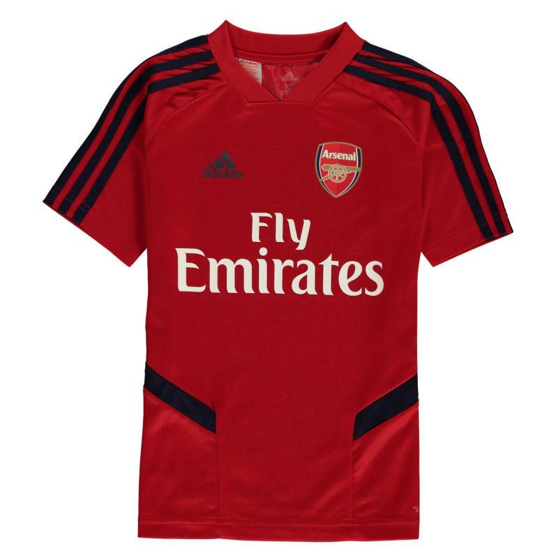 Adidas Arsenal Training Shirt 2019 2020 Scarlet