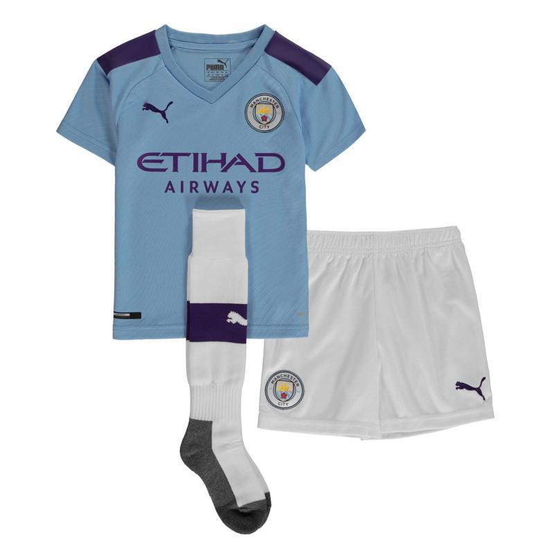 Puma Manchester City Home Mini Kit 2019 2020 Blue/Purple