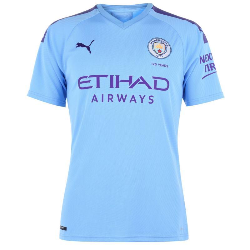 Puma Manchester City Home Shirt 2019-2020 Blue/Purple