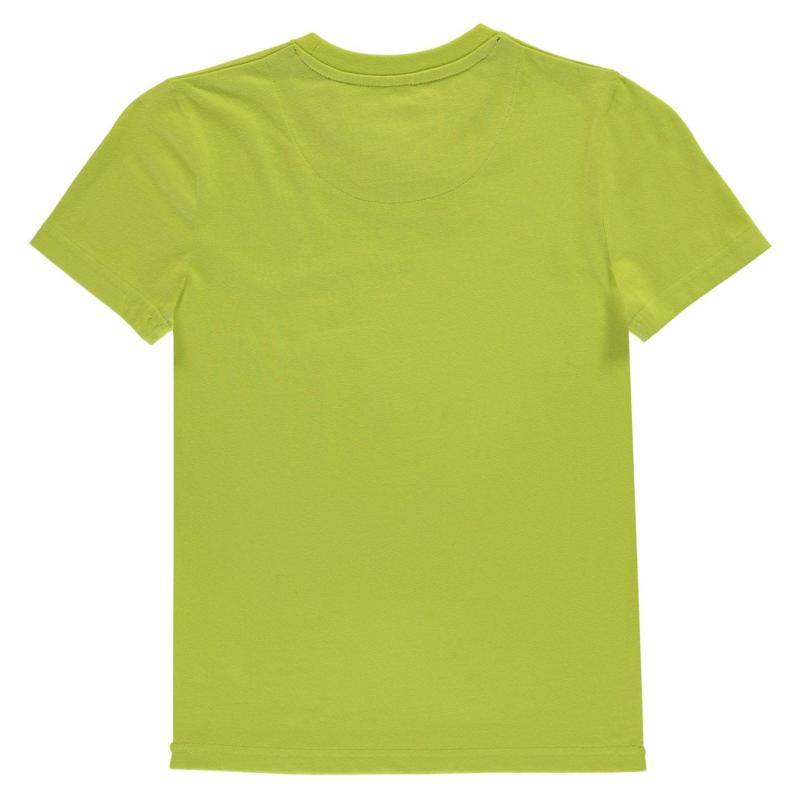 Tričko SoulCal Long Line T Shirt Junior Boys Blue