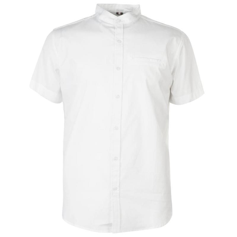 Soviet Short Sleeve Tape Shirt White
