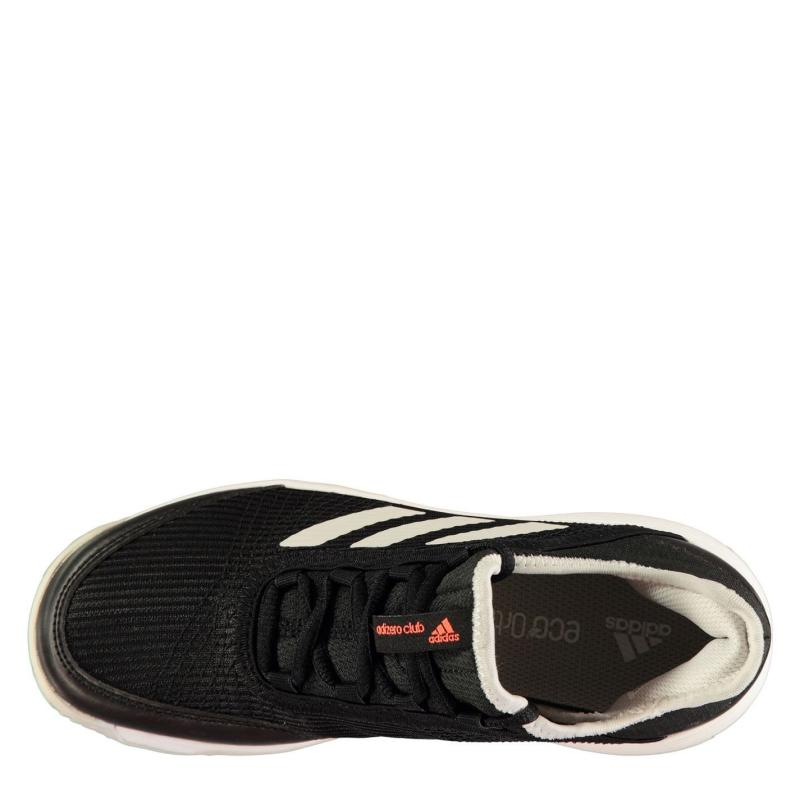 Adidas adiZero Club Juniors Tennis Shoes Black/White