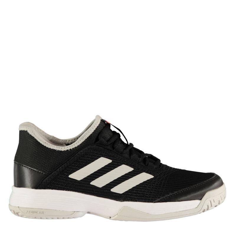 Adidas adiZero Club Juniors Tennis Shoes Black/White