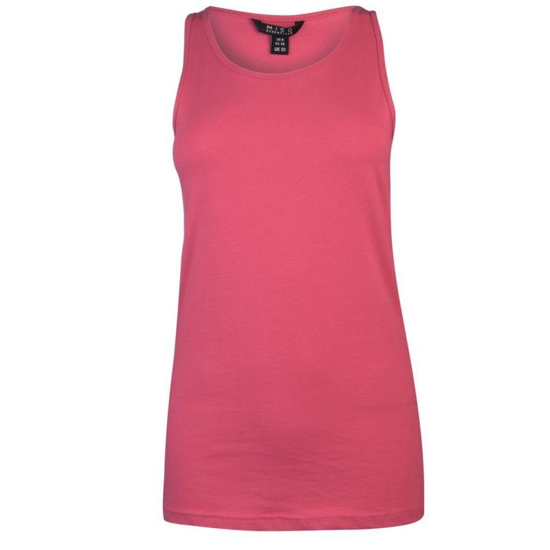 Miso Tank Vest Ladies Raspberry