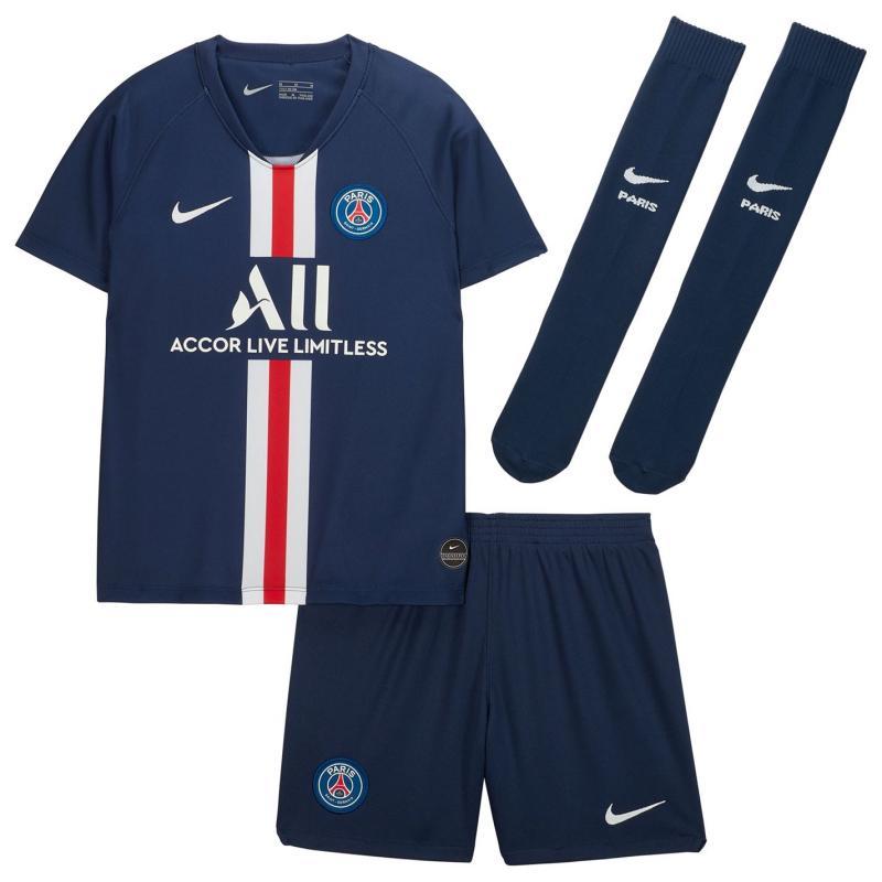 Nike Paris Saint Germain Home Mini Kit 2019 2020 Navy/White