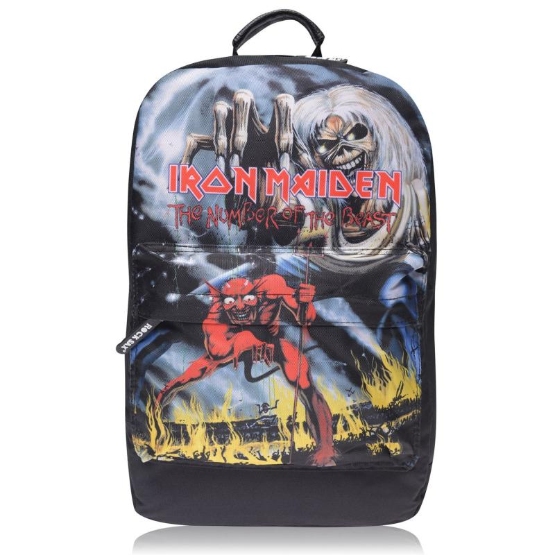 Official Band Backpack Iron Maiden Num