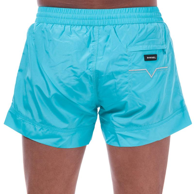 Diesel Mens BMBX 2.017 Swim Shorts Blue