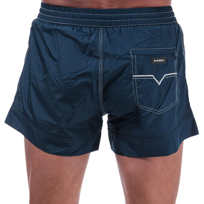 Diesel Mens BMBX 2.017 Swim Shorts Navy