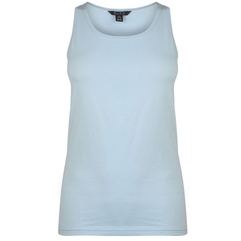 Miso Tank Vest Ladies Light Blue