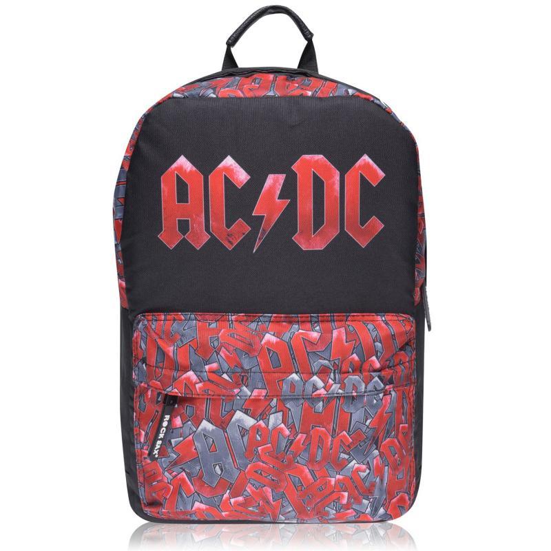 Official Band Backpack AC/DC Black AOP