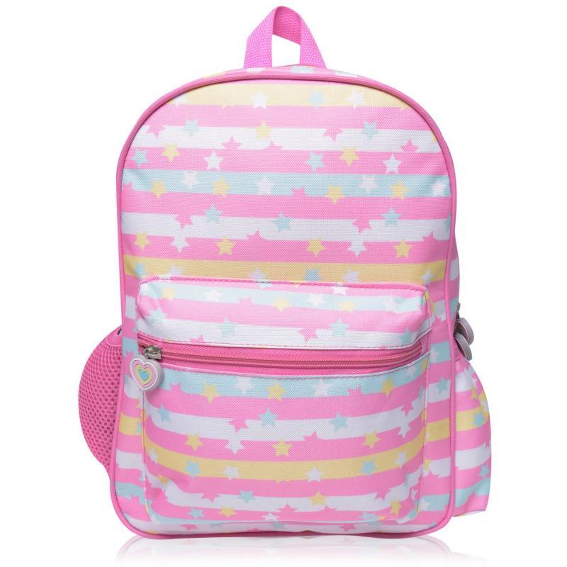 Star Pocket Backpack Pastel Stars