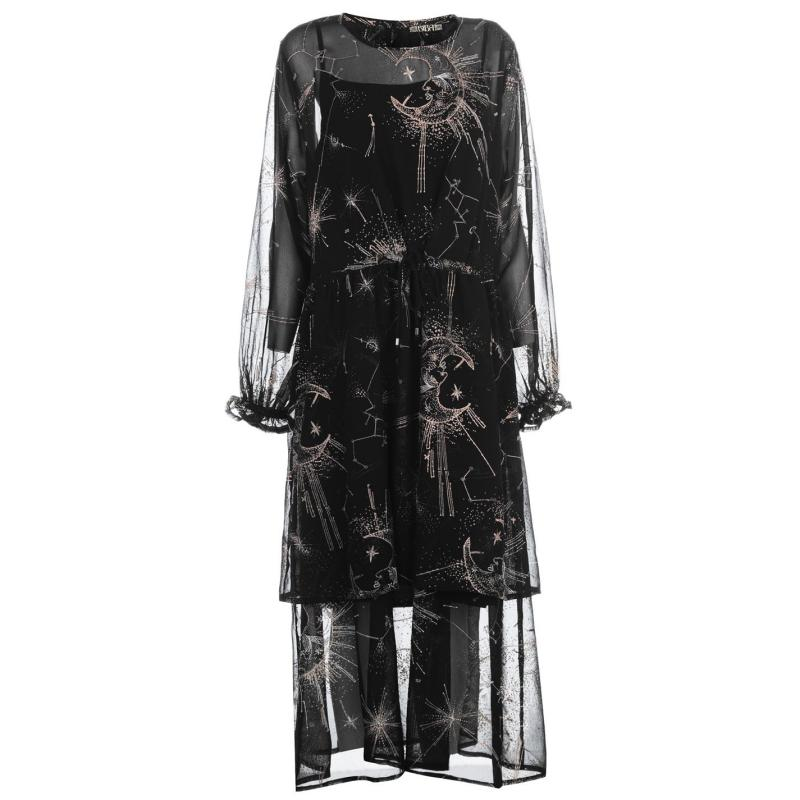 Šaty Label Lab Label Constellation Dress Black