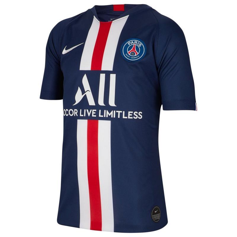 Nike Paris Saint Germain Home Shirt 2019 2020 Junior Navy/White