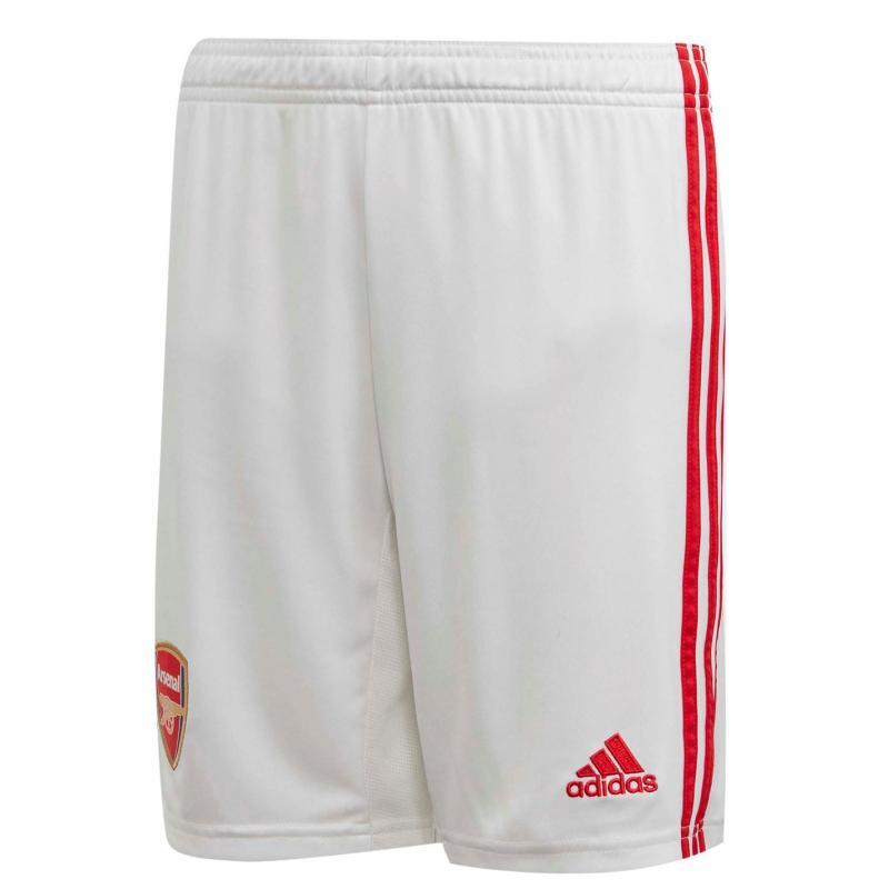 Adidas Arsenal Home Shorts 2019 2020 Junior White