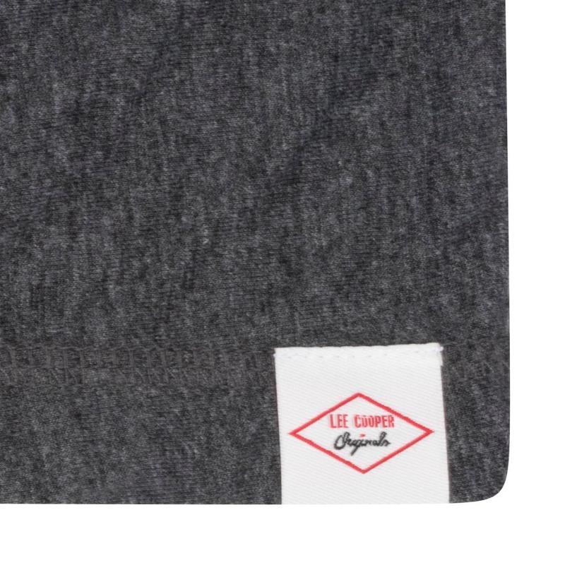 Tričko Lee Cooper Jersey Boxy Tee Ladies Grey