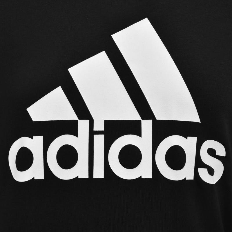Mikina adidas BOS Crew Sweatshirt Mens Black/White