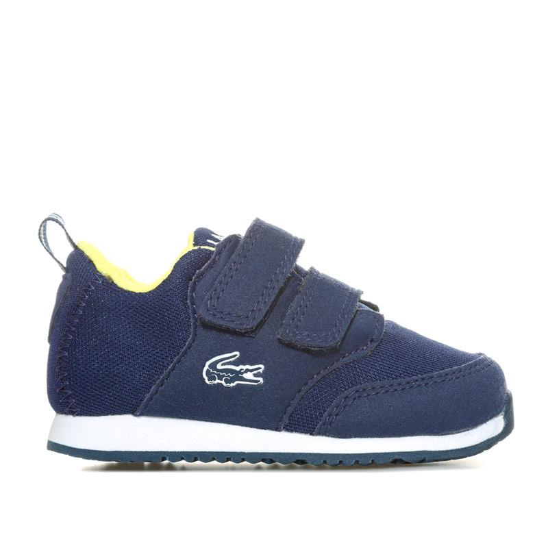 Boty Lacoste Infant Boys L.IGHT Trainers Navy
