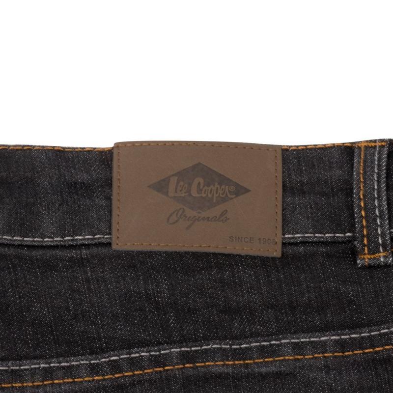 Lee Cooper Denim Shorts Mens Black