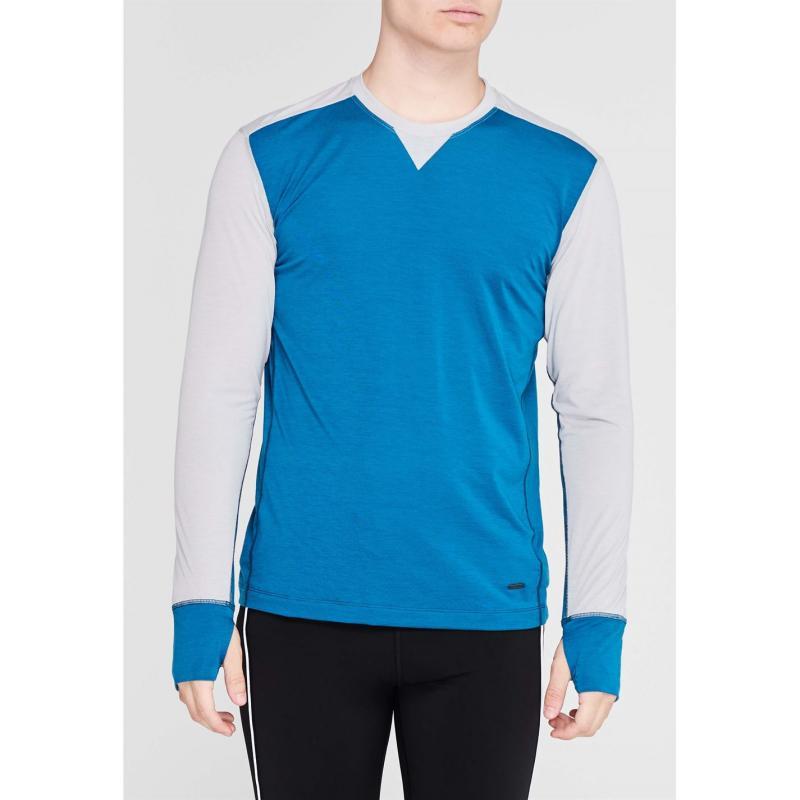 Sugoi Coast Long Sleeve T Shirt Mens Baltic Blue